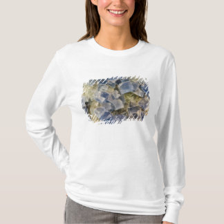Blue Fluorite Crystals in Matrix T-Shirt