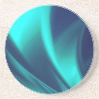 Blue Flush Coaster