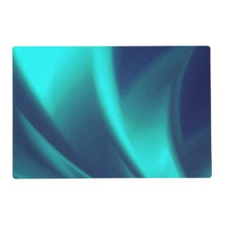Blue Flush Laminated Placemat