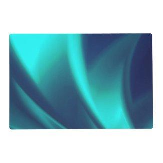 Blue Flush Laminated Placemat
