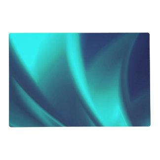 Blue Flush Placemat