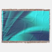 Blue Flush Throw Blanket