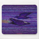 Blue flying things mousepads