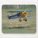 Blue Fokker D.VII Mousepad