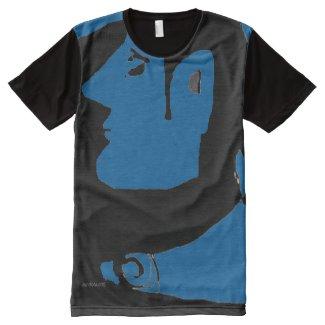 blue fool All-Over print t-shirt