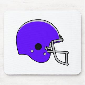 blue football helmet mouse pad