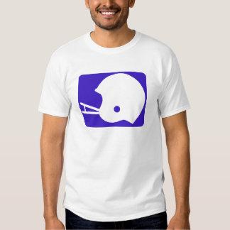 blue football logo T-Shirt
