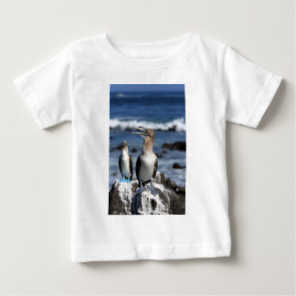 Blue footed Boobies Galapagos Islands Baby T-Shirt