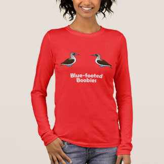 Blue-footed Boobies Long Sleeve T-Shirt