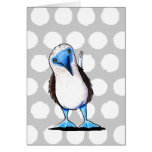 Blue Footed Booby Bird Card