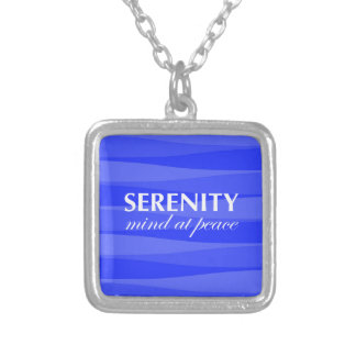 Blue for Serenity Personalized Necklace