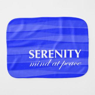 Blue for Serenity Burp Cloth
