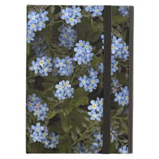 blue forget me not flowers icase ipad case