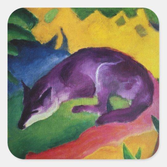 Blue Fox, 1911 Square Sticker