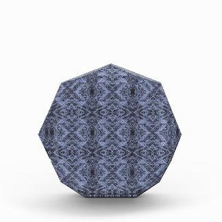 Blue Foxtail Repeat Acrylic Award