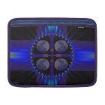"""Blue Fractal Art Sleeve for 13"""" or 11"""" Macbook Air Sleeves For MacBook Air"""
