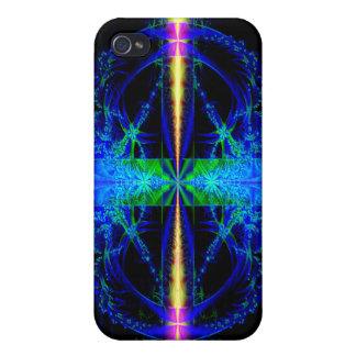 Blue Fractal Art Speck Case for i Phone