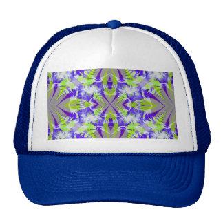 Blue Fractal Hat