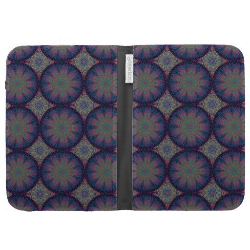 Blue Fractal Pattern Cases For The Kindle