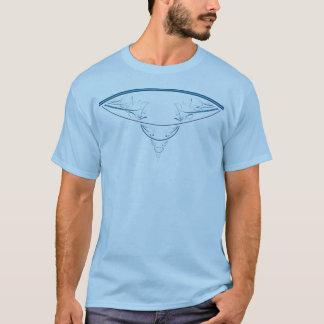 Blue Fractal T-Shirt