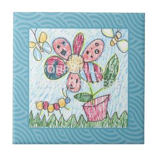 Blue Framed Tile/Trivet  $17.95 Tile
