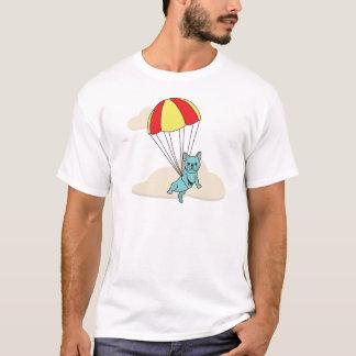 Blue French Bulldog Umbrella Fun Shirt