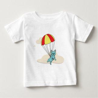 Blue French Bulldog Umbrella Fun Toddler Shirt