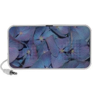 Blue French Hydrangea Doodle Speaker