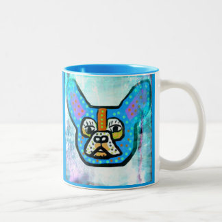 Blue Frenchie Coffee Mug