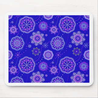 Blue Frenzy Collection Mouse Pad