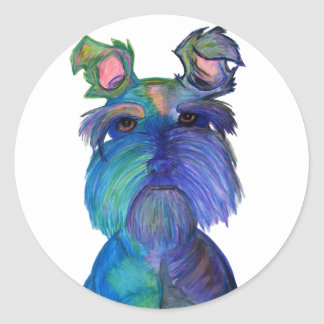 Blue Fritz Stickers