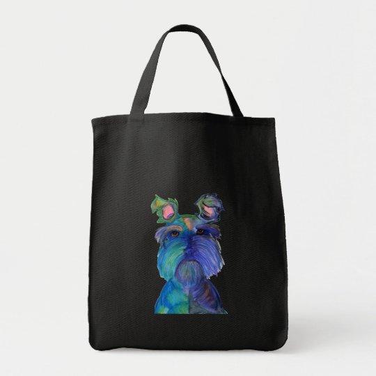 Blue Fritz Tote Bag