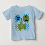 Blue Frog 1st Birthday Tshirts and Gifts