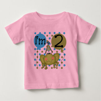 Blue Frog 2nd Birthday Tshirts and Gifts