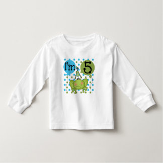 Blue Frog 5th Birthday Tshirts and Gifts