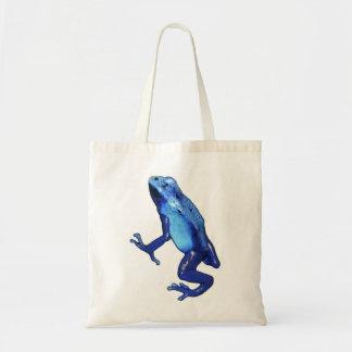 blue frog copy canvas bags