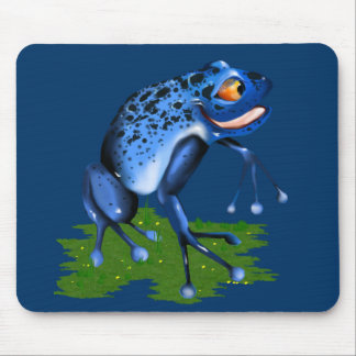 *Blue Frog Mouse Pad