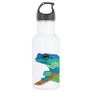 Blue Frog Water Bottle