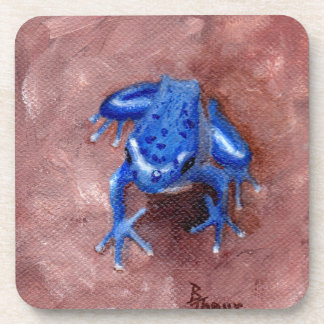 Blue Froggy Drink Coasters