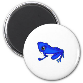Blue Froggy Magnet