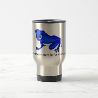 Blue Froggy Mug