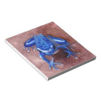 Blue Froggy Notepad