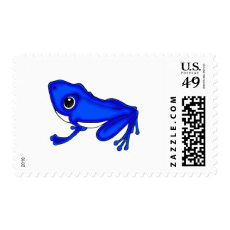 Blue Froggy Postage