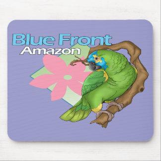 Blue Front Amazon Mousepad