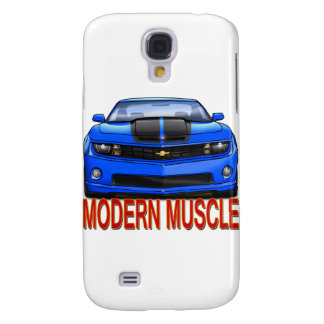 BLUE_FRONT_CAMARO.png Galaxy S4 Case