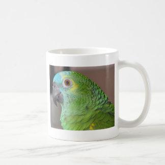 Blue Fronted Amazon Classic White Coffee Mug
