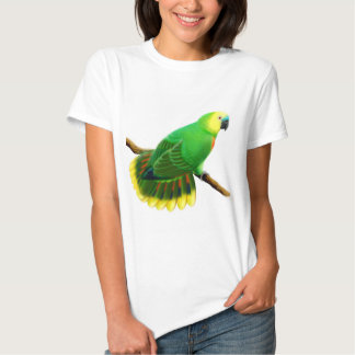 Blue Fronted Amazon Parrot Babydoll Tee