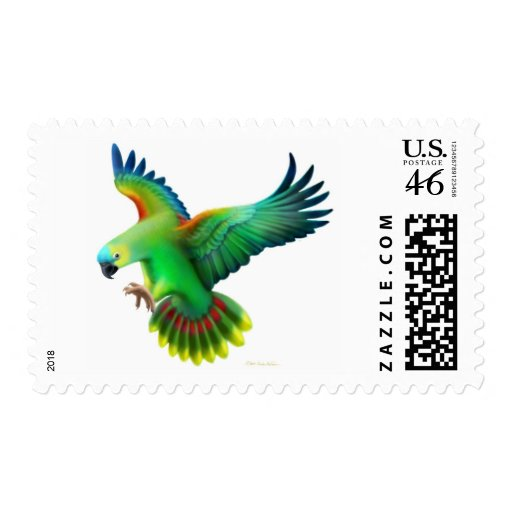 Blue Fronted Amazon Parrot Postage