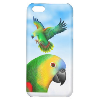 Blue Fronted Amazon Parrots iPhone Case Case For iPhone 5C