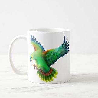 Blue Fronted Parrots Mug